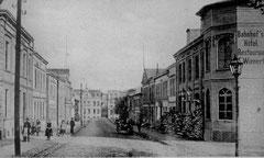 März: Bahnhofstraße um 1907