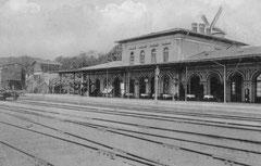 Oktober: Eutiner Bahnhof 1911