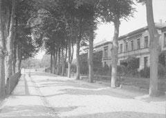 September: Die Plöner Straße zum Ende des 19. Jahrhunderts