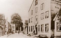 """Juni: Das """"Deutsche Haus"""" eines der ältesten Gildehäuer Eutins"""