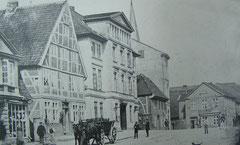 """März: Das Hotel """"Stadt Hamburg"""" vor 1901"""