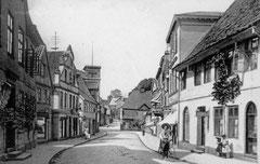 Deckblatt: Sackstraße, heute Am Rosengarten, vor 1904