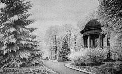 Dezember: Der Eutiner  Schlossgarten im Winter
