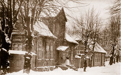 Dezember: altes Hofgärtnerhaus im Jungfernstieg 1871 abgebrochen