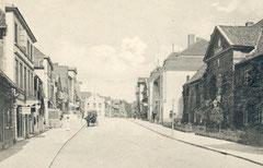 Juni: Die Lübecker Straße zum Beginn des 20. Jahrhunderts