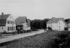 November: Die Vahldiekstraße um 1910