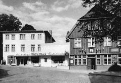 April: Das Voss-Haus in den 1960er Jahren