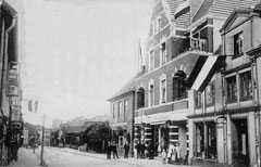 Mai: Lübecker Straße Nr. 45 - 49 um 1908