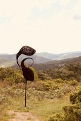 """"""" Elégance"""" => Sentier Sculptures de Mayronnes (Fr)"""