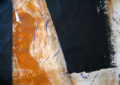 il giardino2 - 2/3, 2010, mm on paper, 50x70 cm cm