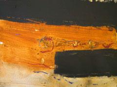 il giardino2 - 3/2,  2010, mm on paper, 30x40 cm