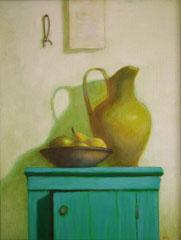 Кухонный столик (к. м., 65х50, 2003)