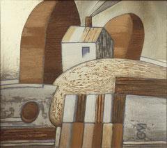 Пейзаж с палитрой (к. ф. м., 74х85, 1989)