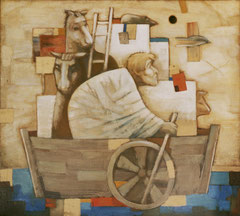 Ноев ковчег (х. м., 90х100, 1991)