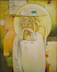 Jazz man (х. акр. м., 94х75, 1995)