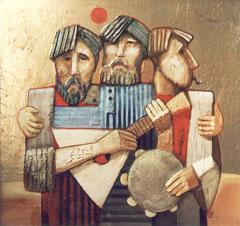 Три богатыря (к. ф. м., 95х100, 1990)