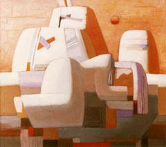 Вечер (х. м., 94х100, 1991)