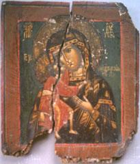 Образ Феодоровской Пресвятой Богородицы