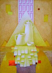 Конструктивный натюрморт (к. акр., 100х71, 2006)