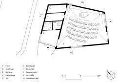 Haus der Musik Bischofszell: Grundriss Haus der Musik