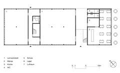 Lehrlingswerkstätten Komturei Tobel: Erdgeschoss