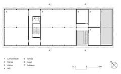 Lehrlingswerkstätten Komturei Tobel: Obergeschoss