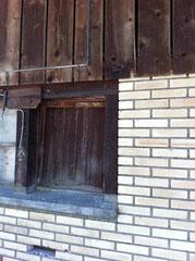 Weinhandlung Höcklistein: Fassadendetail