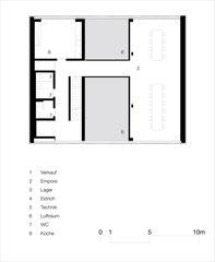 Weinhandlung Höcklistein: Obergeschoss