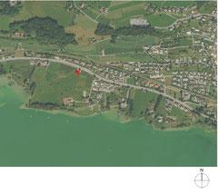 Weinhandlung Höcklistein Rapperswil-Jona: Orthofoto (Quelle: GIS-ZH, Kanton Zürich / swisstopo)