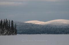 Jerisjärvi mit Sammaltunturi