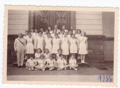 1955  l' équipe féminine