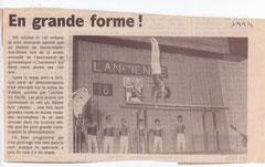 1994   LA DERNIERE EQUIPE de  Antoine....