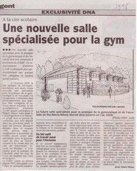 1998 ENFIN NOTRE SALLE SPECIALISEE VA NAITRE !!!!