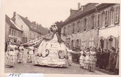 1955  CAVALCADE du Carnaval des paysans