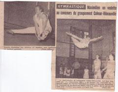 François MAXIMILIEN , aussi un super gymnaste !!!!!