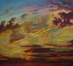 Ο Ουρανός,  κώδικας №39  (90χ110cm) (χωρίς κορνίζα) -μη διαθέσιμο-SOLD