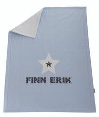 Babydecke Decke Stern Name