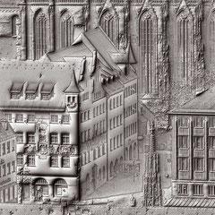 Ausschnitt Nürnberg-Relief