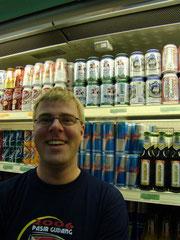 Eine etwas andere Bierauswahl (alkoholfrei).