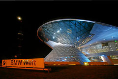 BMW Welt, Eröffnung Ende 2007.