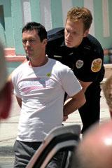 Verhaftung des Bad Boy.