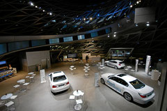 "Sonderausstellung ""BMW Efficent Dynamics""."