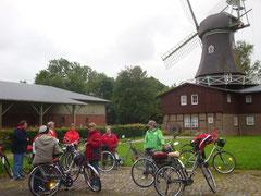 Erster Stop war an der Osterbrucher Mühle