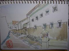 鳥取県 倉吉白壁通り
