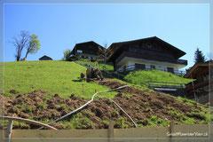 Trotz des steilen Terrains; unsere Wohnung wird bequem via Lift erreichbar sein :-)
