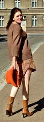 Longshirt / Minikleid von Vero Moda in schönen Herbsttönen