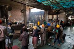 Temple d'Or des Sikhs - Cuisine © Olivier Philippot