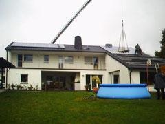 Photovoltaik Montage