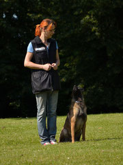 Melly mit Anke