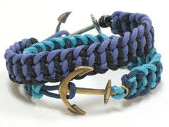 "2 Armbänder - Janis, ""Anker"""